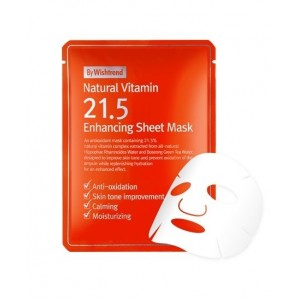 By Wishtrend Natural Vitamin 21.5 Enhancing Sheet Mask  23ml