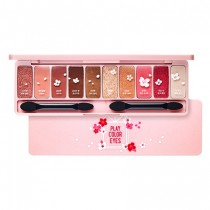 Etude House Play Color Eyes Cherry Blossom  樱花限量眼影盘  0.8g*10