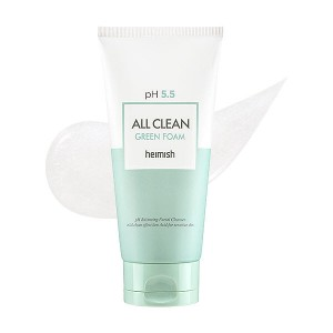 Heimish pH 5.5 All Clean Green Foam  150ml