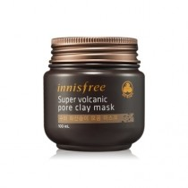 Innisfree Super Volcanic Pore Clay Mask  超级火山岩泥毛孔清洁面膜  100ml