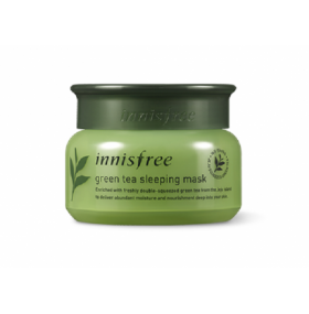 Innisfree Green Tea Sleeping Mask  绿茶晚安冻膜  80ml