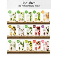 Innisfree It's Real Squeeze Mask - Black Berry  真萃黑莓面膜  20ml