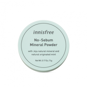 Innisfree No Sebum Mineral Powder  矿物质控油散粉  5g