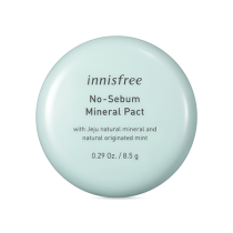 Innisfree No Sebum Mineral Pact  矿物质控油粉饼  8.5g
