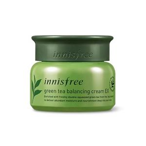 Innisfree Green Tea Balancing Cream EX  綠茶水平衡面霜 EX  50ml