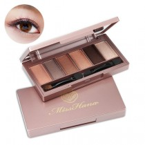 Miss Hana Novadiva 6-Colors Eye Shadow Palette 花娜小姐绝色名伶六色眼影盘