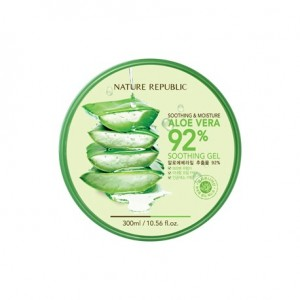 Nature Republic Soothing & Moisture Aloe Vera 92% Soothing Gel  舒缓保湿芦荟92%凝胶  300ml