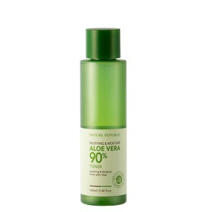 Nature Republic Soothing & Moisture Aloe Vera 90% Toner  芦荟舒缓保湿90%爽肤水  160ml
