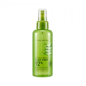 Nature Republic Soothing & Moisture Aloe Vera 92% Gel Mist  芦荟舒缓保湿92%喷雾  150ml