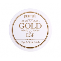 Petitfee Gold & EGF Eye and Spot Patch  金箔+EGF眼膜及局部贴膜  (60片)