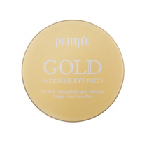 Petitfee Gold +5 Complex Eye Patch  黄金人参燕窝眼膜  (60片)