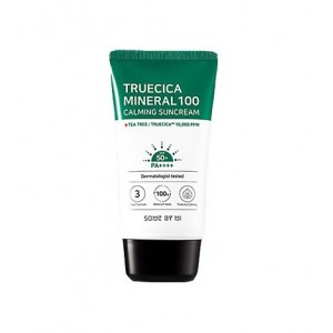 Some By Mi Truecica Mineral 100 Calming Suncream SPF50PA++++  50ml