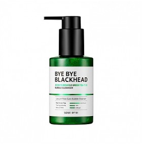 Some By Mi Bye Bye Blackhead 30Days Miracle Green Tea Tox Bubble Cleanser 120g