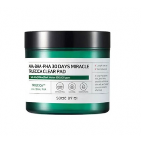 Some By Mi AHA BHA PHA 30 Days Miracle Truecica Clear Pad  70pads